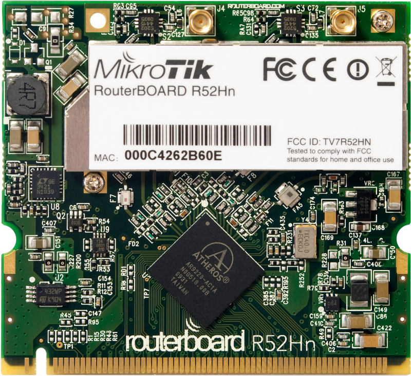 ���������� Mikrotik R52Hn
