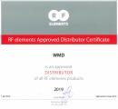 WMD - официальный Дистрибьютор RF elements